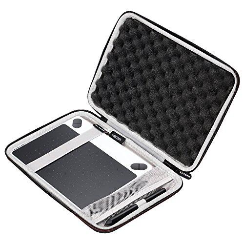 Galleria fotografica LTGEM - Valigetta rigida da viaggio in EVA per tavoletta grafica Wacom Intuos Draw Graphics Pen Tablet, misurapiccola con tasca a rete