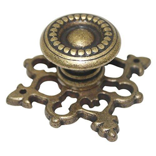 Möbel Schublade Zieht (Vintage braun Öl eingerieben Knopf, Möbel Schrank Kleiderschrank Schublade Griff zieht err622)