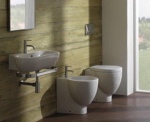 Preisvergleich Produktbild Bowl Waschbecken suspendiert 70x 37