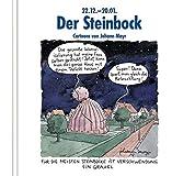 Der Steinbock: Cartoon-Geschenkbuch