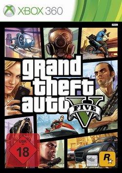 Preisvergleich Produktbild Grand Theft Auto V X-Box 360