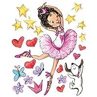 Wallies Peel & Stick Big Wall Stickers-Ballerina
