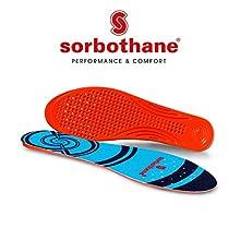 Sorbothane 091566942, Semelles orthopédiques bleu EU 42 (UK 8)