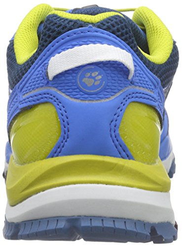 Jack Wolfskin Trail Excite Low M, Chaussures Multisport Outdoor homme Bleu - Blau (moroccan blue 1800)