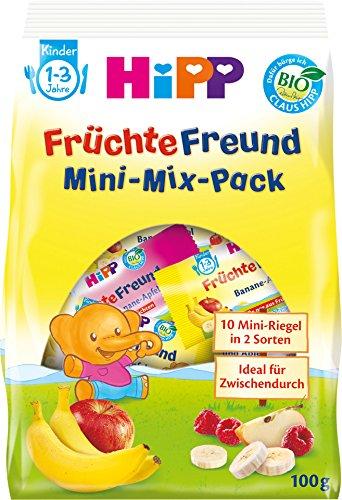Hipp - Bio FrŸchte Freund Mini-Mix-Pack - Fruchtriegel - 100g