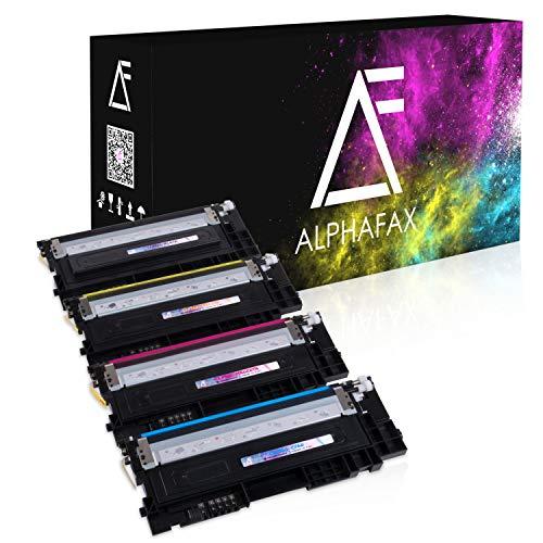4 Toner kompatibel für Samsung CLP-360 N ND Series 365 W CLX-3300 3305 FN FW W Series Xpress C410 C460 FW W Series - CLT-K406S C406S M406S Y406S - Schwarz 1.500 Seiten, Color je 1.000 Seiten -