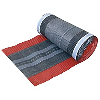 SILISTO Alu-Basic Firstrolle 320mm x 5m, Farbe Rot
