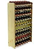 MODO24 Estantería de Botellas de Vino Armario Soporte