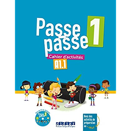 Passe-Passe niv.1 - Cahier + CD