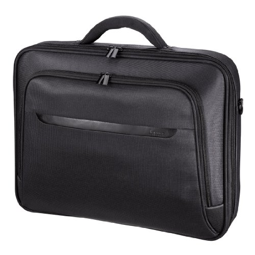 Hama Notebooktasche Miami Life für Laptop / Tablet mit Bildschirmdiagonale 17,3 Zoll / 44 cm, Laptoptasche schwarz