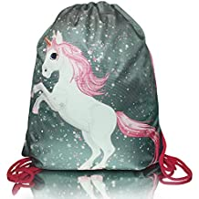 Unicornio MAGIC COLLECTION mágico con brocado bolsa con cordón para una pequeña princesa