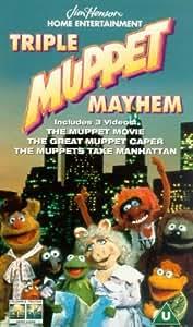 Triple Muppet Mayhem - The Muppet Movie/The Great Muppet ...The Muppet Movie Vhs Amazon