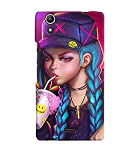 Micromax Canvas Selfie Lens Q345 MULTICOLOR PRINTED BACK COVER FROM GADGET LOOKS