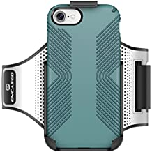 Workout Armband for Speck Presidio & Presidio Grip Series (case not included) Effortless Click-N-Go Mounting System (by Encased Products) (iPhone 7 Plus)
