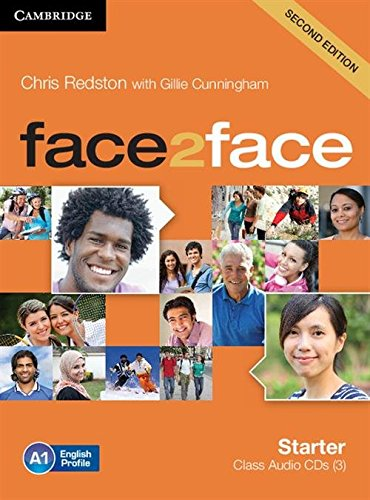 face2face Starter Class Audio CDs (3) Second Edition