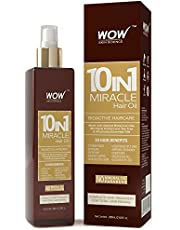 WOW 10 in1 Miracle No Parabens Mineral Oil Hair Oil 200mL