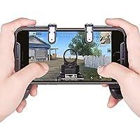 ZHANGMI PUBG Controladores de Juegos móviles Gamepad Sensitive Shoot Apuntar Joysticks Physical Buttons L1R1 Diseño ergonómico Handgrip Game Triggers for Knives out/Reglas de Supervivencia