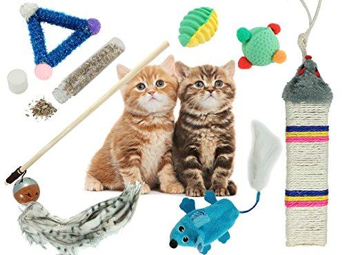 BPS® Pack Juguete Gatos Gatitos Mascotas Animales
