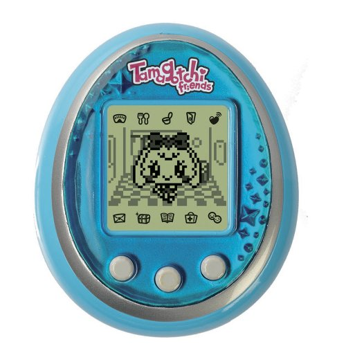 Bandai - 37483 - Jeu Electronique - Tamagotchi Friends - LCD - Bijou - Bleu