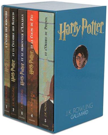 Harry Potter, coffret 5 volumes : Tome 1 à tome 5