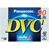 Panasonic DVM60FE - Mini DV de 60 minutos, azul
