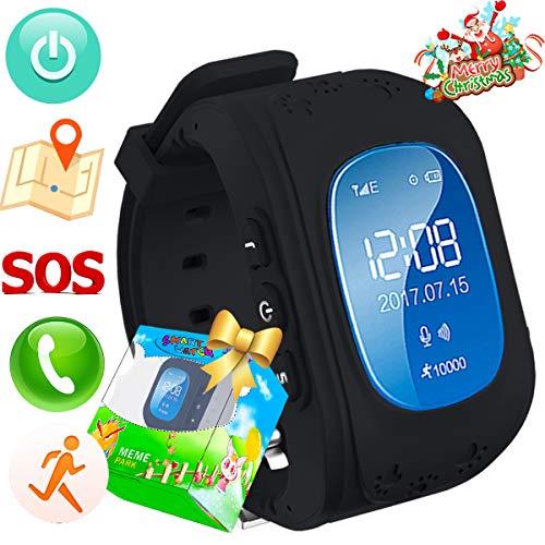 Reloj para Niños,TURNMEON Kids Smartwatch GPS Tracker con Localizador para Niños Niñas...
