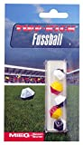 Produkt-Bild: Tipp Kick 016053 - Ersatzbälle 5er, 12 eckig, schwarz - weiß und rot - gelb