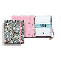 Jordi Labanda 20877 - Carpeta bloc notebook stickers (DIN A4, 210 x 297 mm, 100 hojas de 70 g/m², 4 anillas de tipo d de 35 mm)