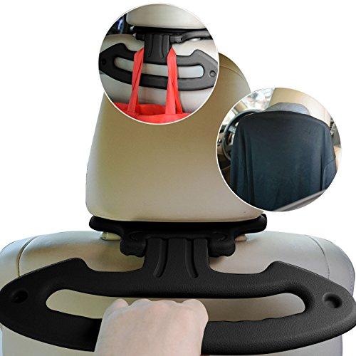 DAYU WORLD Auto Kleiderbügel für Kopfstütze Halter für Kleiderbügel Kleidung Anzüge Jacket Auto Kleiderbügel Auto Handlauf und Auto Haken