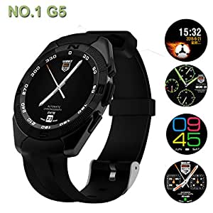 Mobile Link NB1 Bluetooth Smart Watch (Silver) with SIM Card Support, Camera, Sedentary Reminder SIM Card Slot, Call SMS Sync Feature Compatible for LeEco Le 1