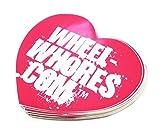 WHEEL WHORES ® Sticker Herz Aufkleber Stickerbomb DUB (140 x 130mm)