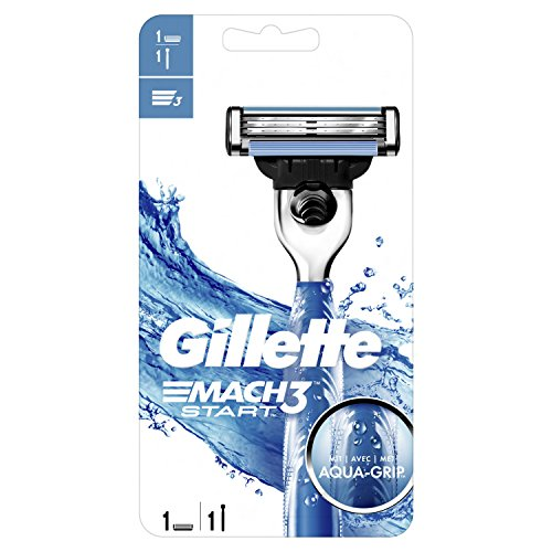 Gillette Mach3Start afeitadora hombres Aqua Grip