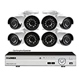Lorex 8 Channel Security Dvr System 2tb Hard Drive and 8 1080p Cameras