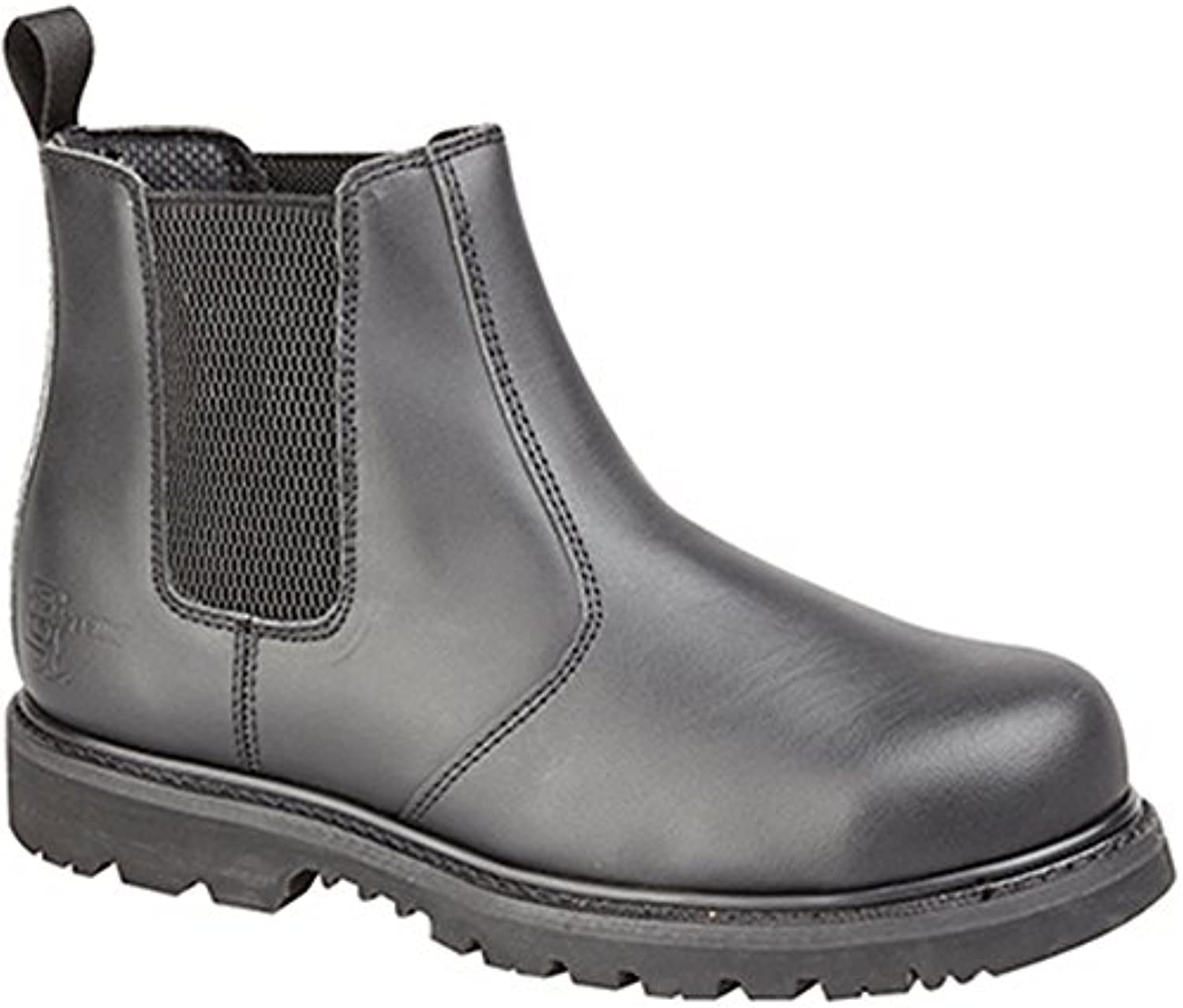 Grafters  Grafters Black Pull On Safety Boot   Herren Chelsea SchuheGrafters Safety Herren Chelsea Schuhe Schwarz