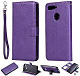 Huawei Mate 20 Pro Wallet Cover Case, Slim Professional Cover PU Leather Holder Magnetic Closure Bumper Folding Phone Case with ID & Credit Card
