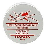 MAVALA Nail Polish Remover Pads x 30