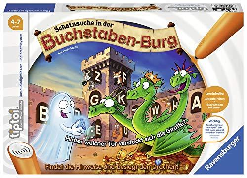 Preisvergleich Produktbild tiptoi® Schatzsuche in der Buchstabenburg: Findet die Hinweise und besiegt den Drachen!