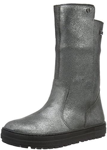NaturinoNATURINO KIRAT - Stivali e stivoletti alti imbottiti caldi Bambina , Grigio (Grau (Stahl_9121)), 30 EU