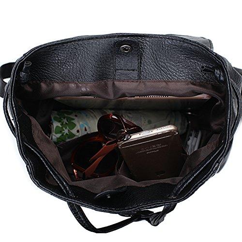 La signora del tessuto di modo zaino/borsa casuale di grande capacità/zaino da viaggio-A B