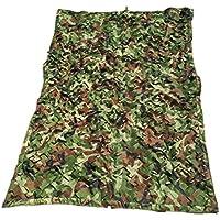 Lona alquitranada redes de camuflaje red de camuflaje selva Puede ser utilizado para acampar tiro al blanco Halloween, tiendas de campaña ocultas camuflaje observación de aves sombrilla fiesta