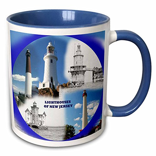 Mensuk mug_47312_3 Lighthouses on New Jersey, Magic Transforming Mug, 11-Ounce