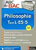 abc du bac excellence philosophie term l es s de denis vanhoutte 26 juin 2013 broch?