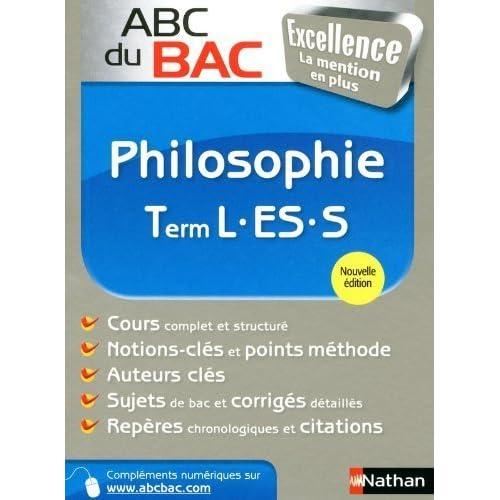 ABC du BAC Excellence Philosophie Term L.ES.S de Denis Vanhoutte (26 juin 2013) Broché