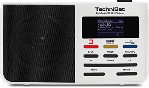 TechniSat 210 IR HIT Edition Internetradio (portables Digitalradio, WLAN, Favoritenspeicher)
