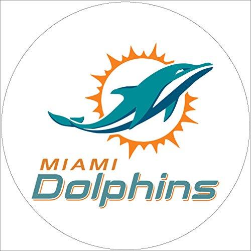 Fondant Tortenaufleger Tortenbild Geburtstag NFL Miami Dolphins T1