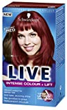 Schwarzkopf LIVE Intense Colour + Lift Permanent L38 Radiant Red - Pack of 3