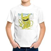 Pokerangers Pokemon Power Rangers Riachu Yellow Kid's T-Shirt