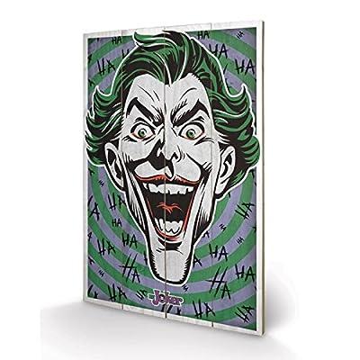 PYRAMID - Panneau en Bois The Joker (Hahaha)
