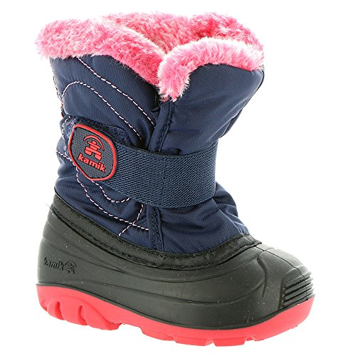 Kamik Kids Womens Snowbugf Navy