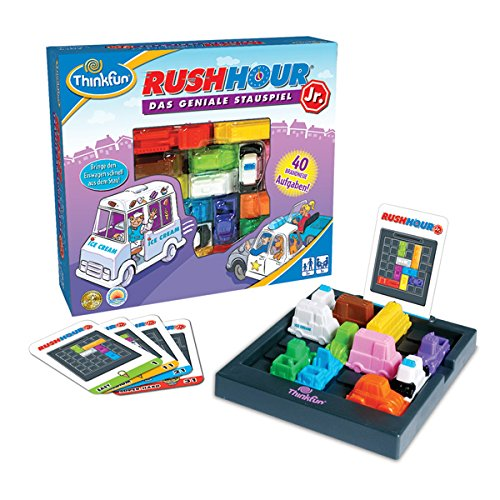 HCM Kinzel Thinkfun 11198 - Rush Hour Junior, Kinderspiel